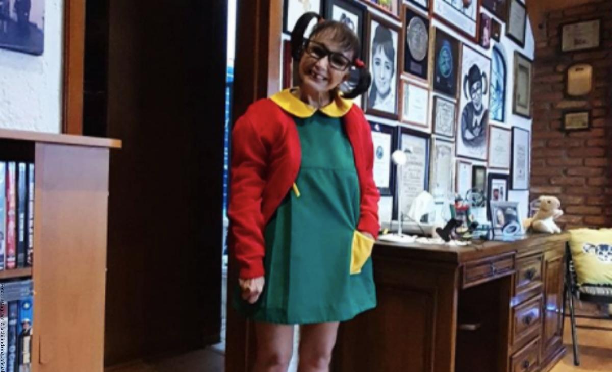 'La Chilindrina' aseguró que no volverá a publicar fotos en vestido de baño