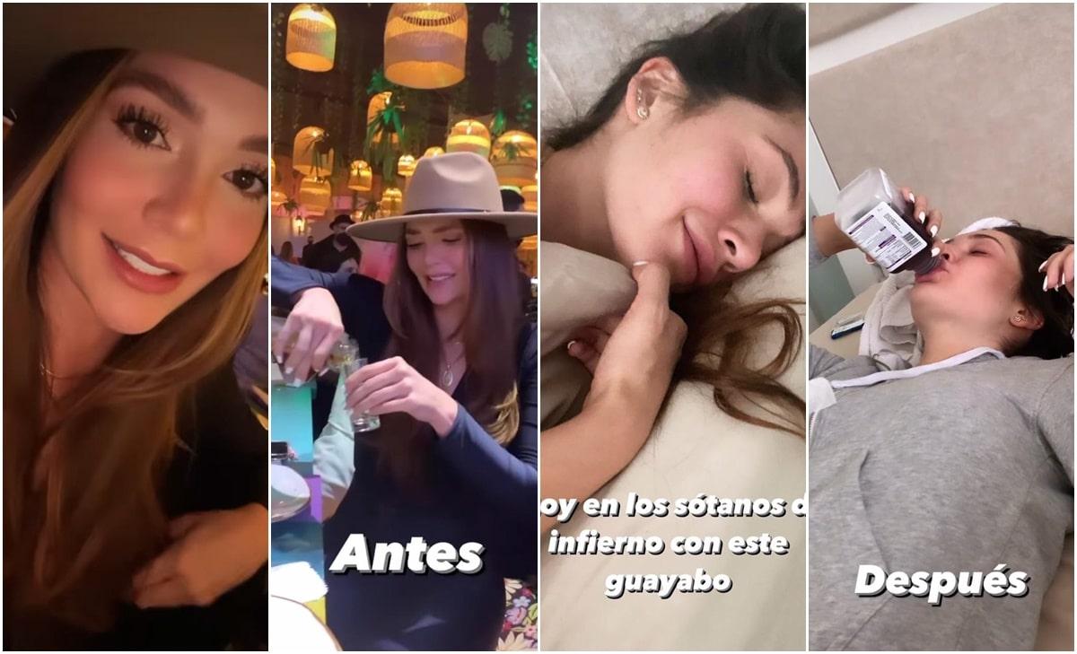 La divertida borrachera de Lina Tejeiro en el bar de Luisa y Pipe