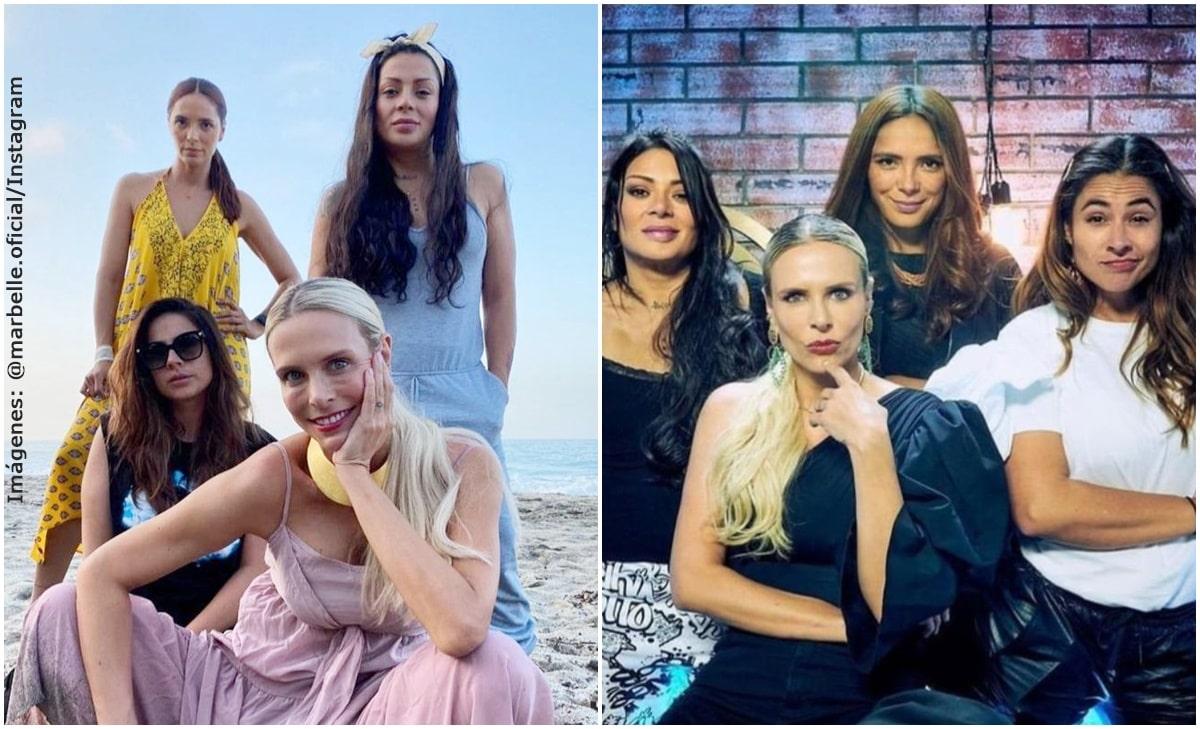 Las parejas de Carla, Viña, Marbelle y Cata, 'las 4 babys' de MasterChef