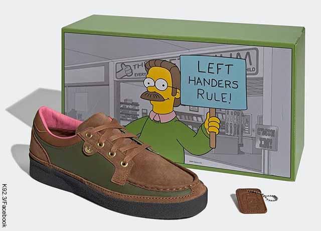 ¡Listo, listón! Lanzarán tenis inspirados en Ned Flanders