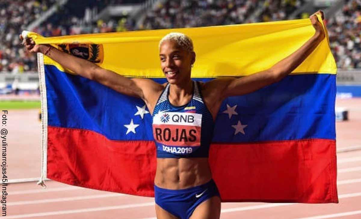 Los récords de Yulimar Rojas, ganadora del oro en salto triple