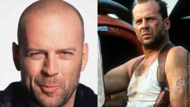 Foto de Bruce Willis actuando