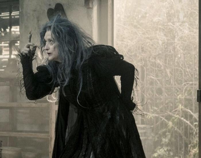 Foto de una bruja