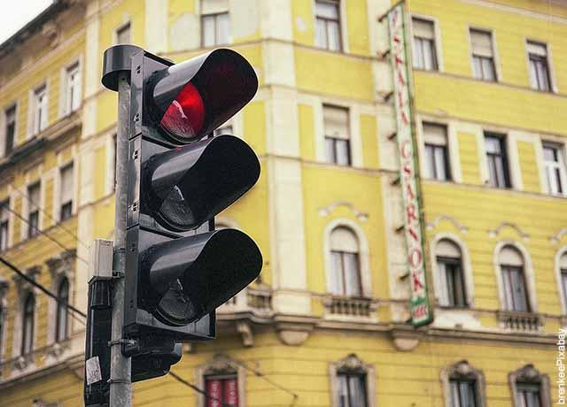 Foto de una semáforo en la calle