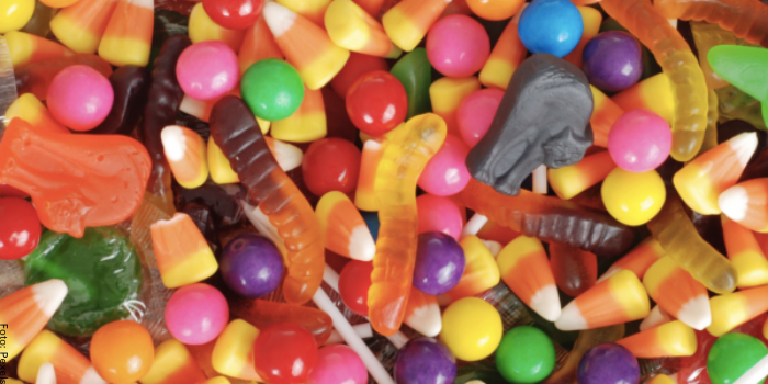 Foto de varios dulces