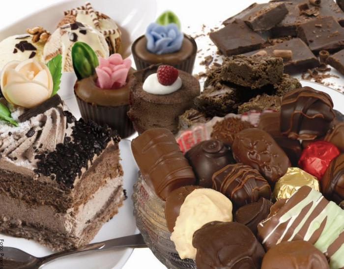Foto de dulces y chocolates