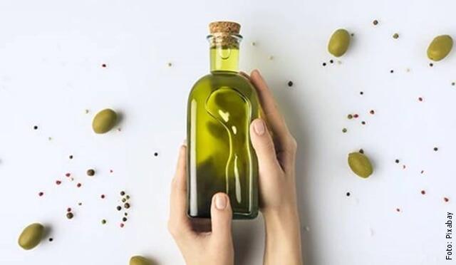 foto de aceite de oliva