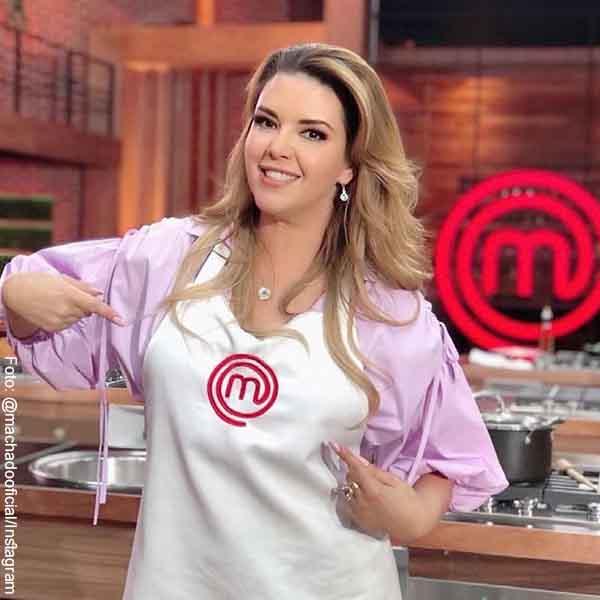 Alicia Machado también salió de Masterchef México