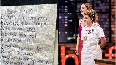 Auxiliar de vuelo le dio a Liss Pereira una carta con conmovedor mensaje