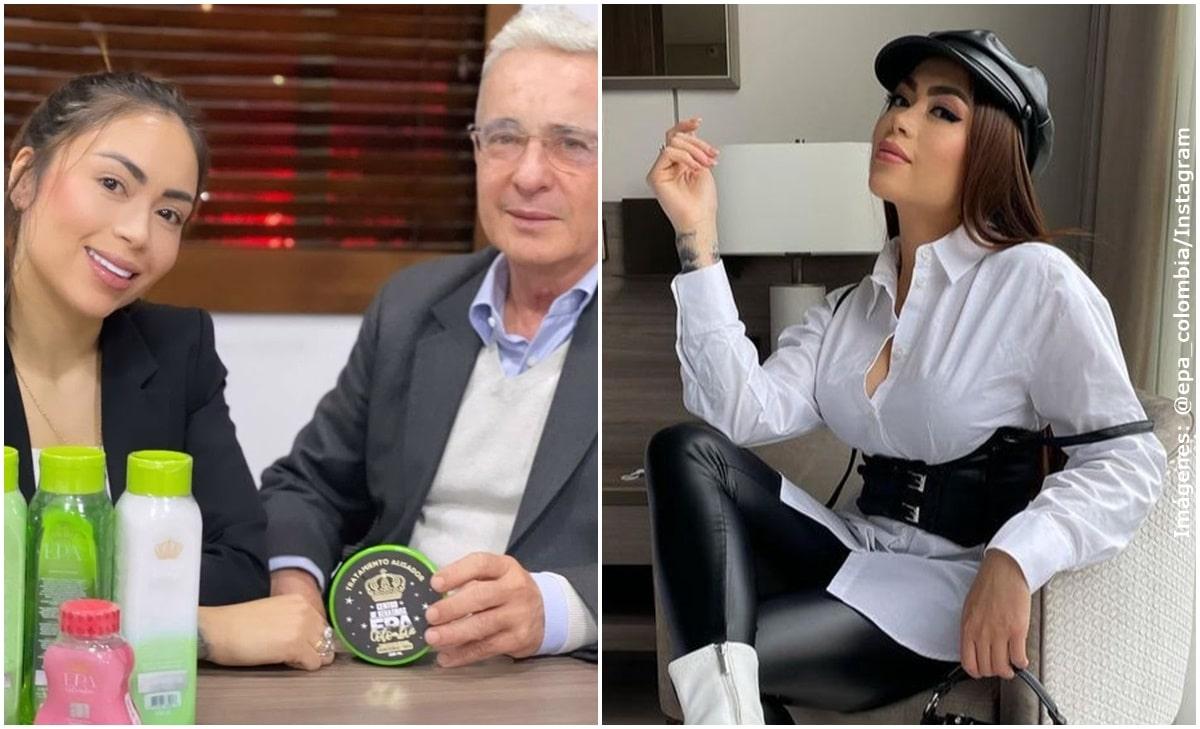 Epa Colombia pidió que no la insulten más por su video con Álvaro Uribe