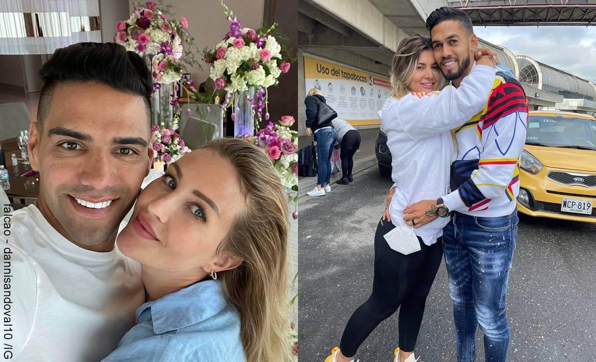 Esposas de los jugadores de la Selección Colombia que están divinas