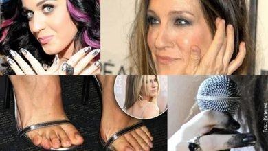 Estas son las famosas con las uñas más feas... ¡Ups!