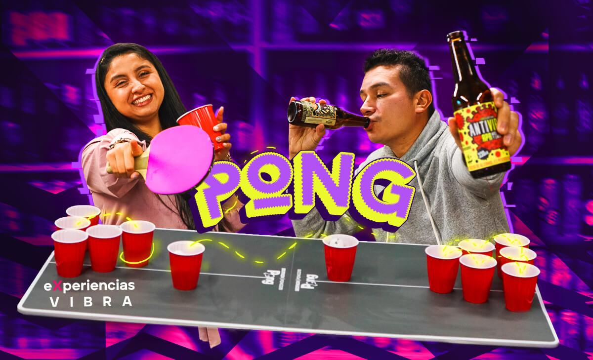 Experiencias Vibra: Pong, el bar para jugar ping-pong y tomar cerveza