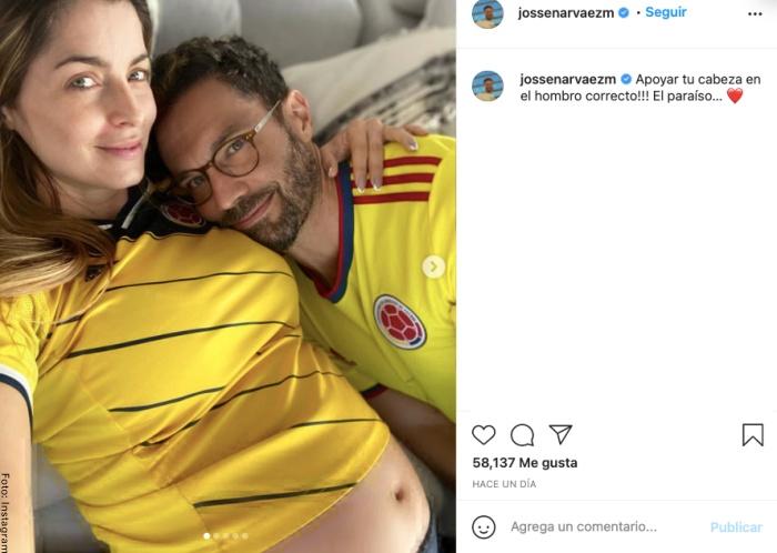 Foto del mensaje de Josse Narváez a Cristina Hurtado