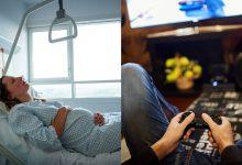 Joven jugó Xbox mientras su novia estaba de parto, ¡y en el hospital!