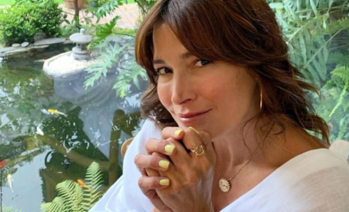 Kathy Sáenz apareció sin maquillaje y sorprendió a sus seguidores