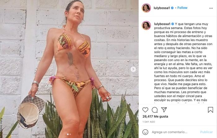 Foto de Luly Bossa en bikini