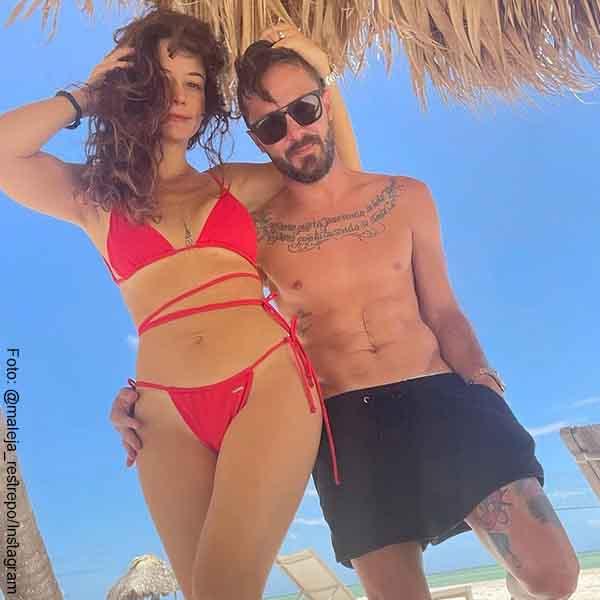 Maleja Restrepo deleitó a fans con un bikini rojo para el antojo