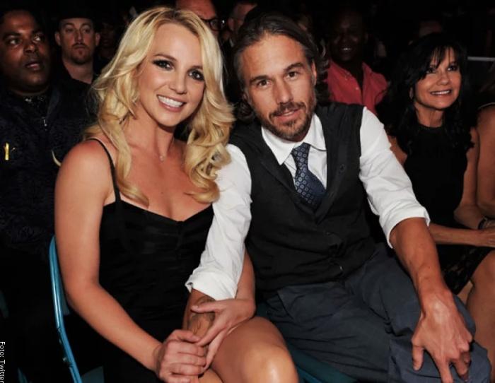 Foto de Britney Spears y Jason Trawick