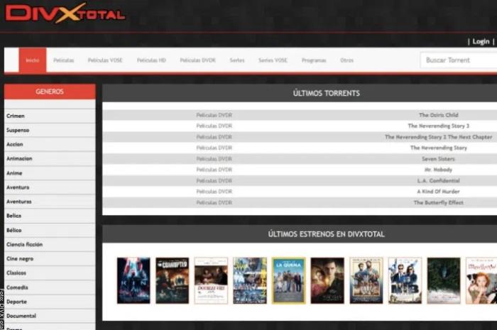 Foto de página DIVXTotal