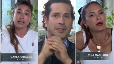Pelea entre las 4 babys y Gregorio en MasterChef terminó con llanto del actor