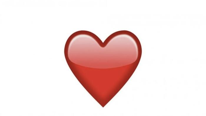 Foto de corazón rojo