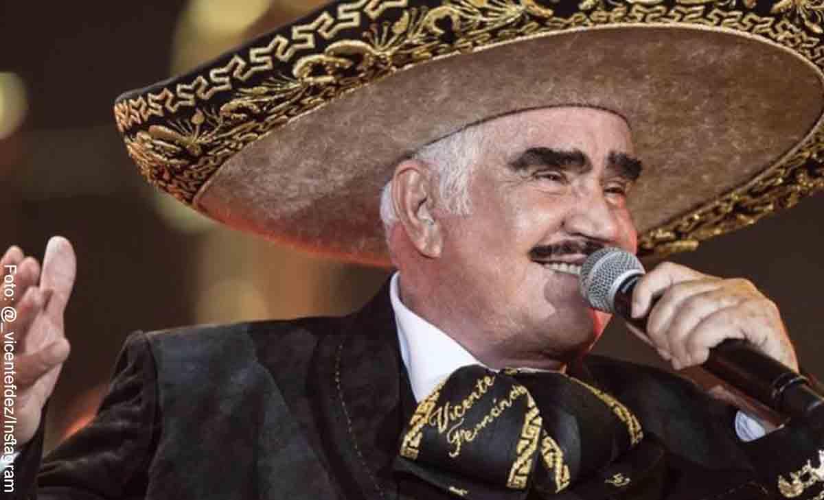 Vicente Fernández agradeció buenos mensajes desde el hospital