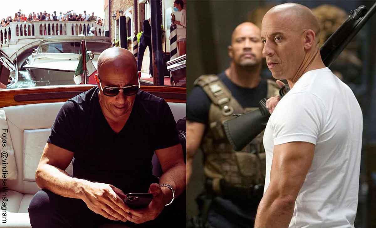 Vin Diesel sorprendió con foto de su nuevo aspecto físico, ¡con barriga!