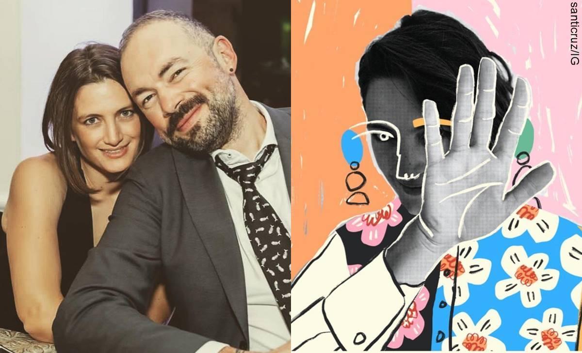 'A ella no le gustan las fotos': De Santiago Cruz para su esposa
