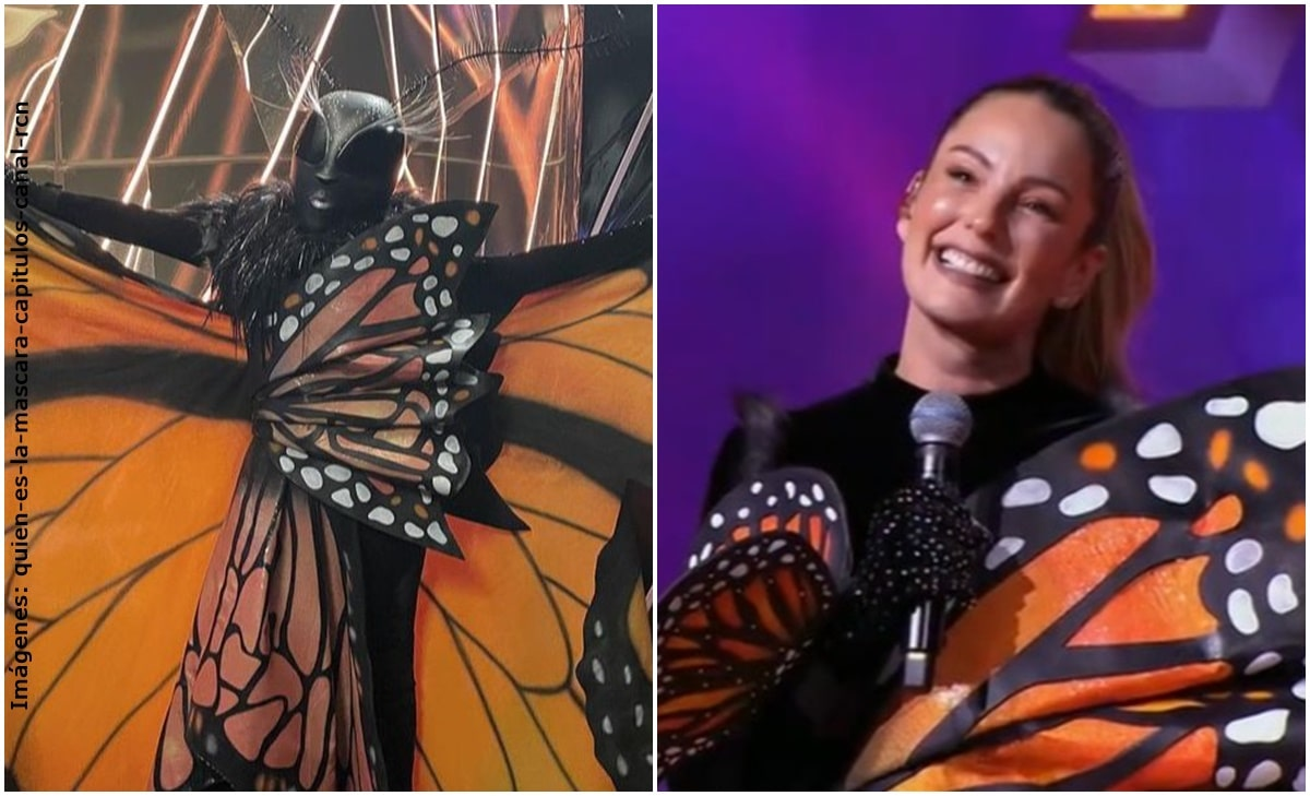 Claudia Bahamón fue la segunda eliminada de '¿Quién es la máscara?'