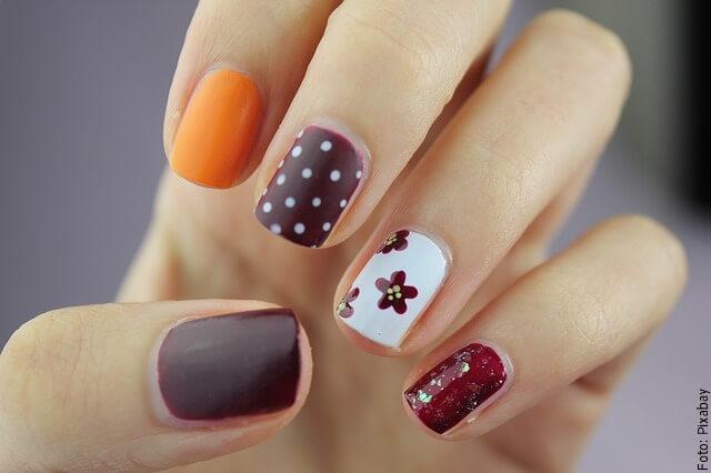 foto de uñas decoradas