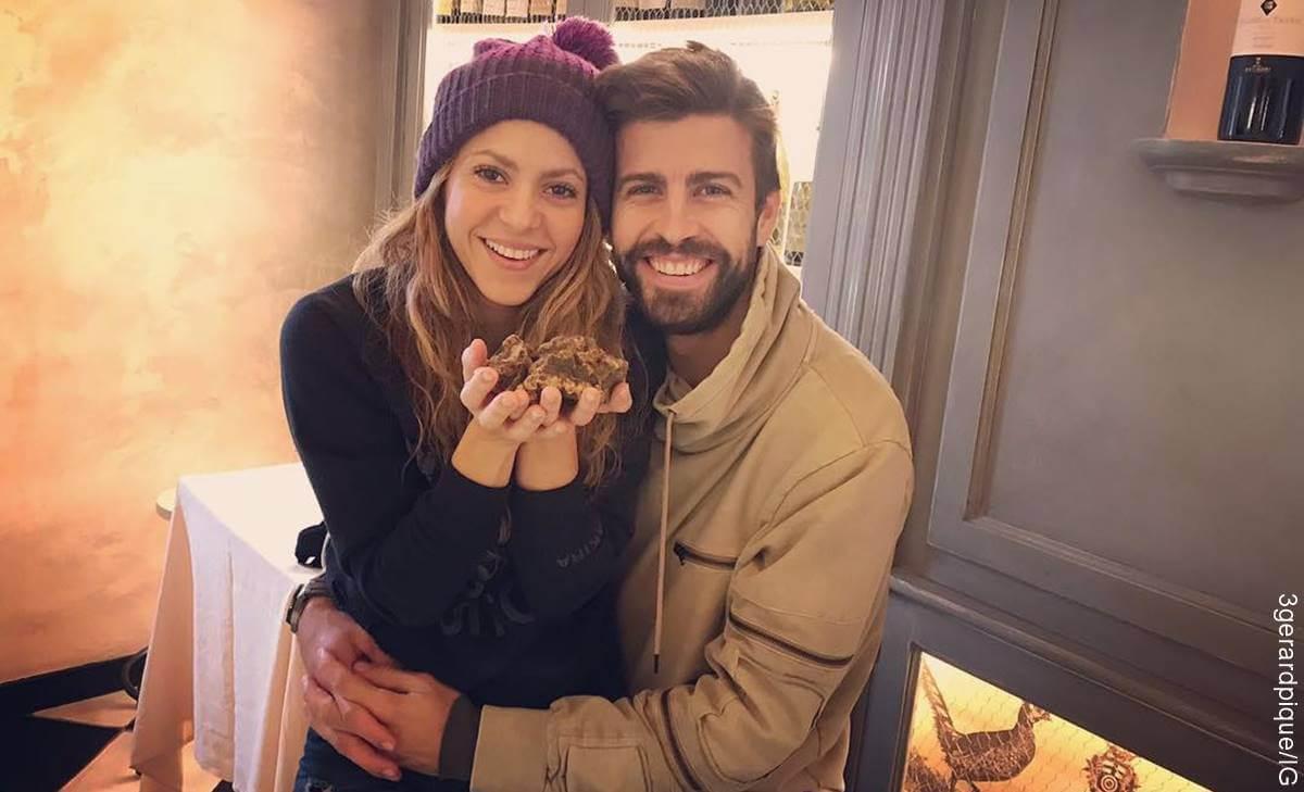 Foto de Shakira y Piqué