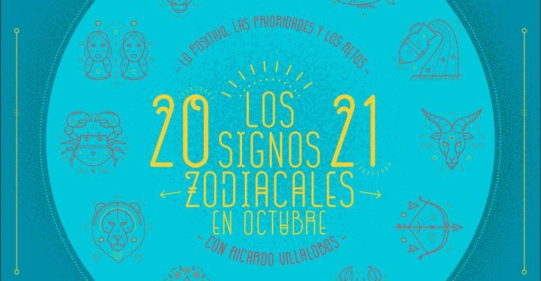 Horóscopo mensual 2021 de Ricardo Villalobos: Octubre