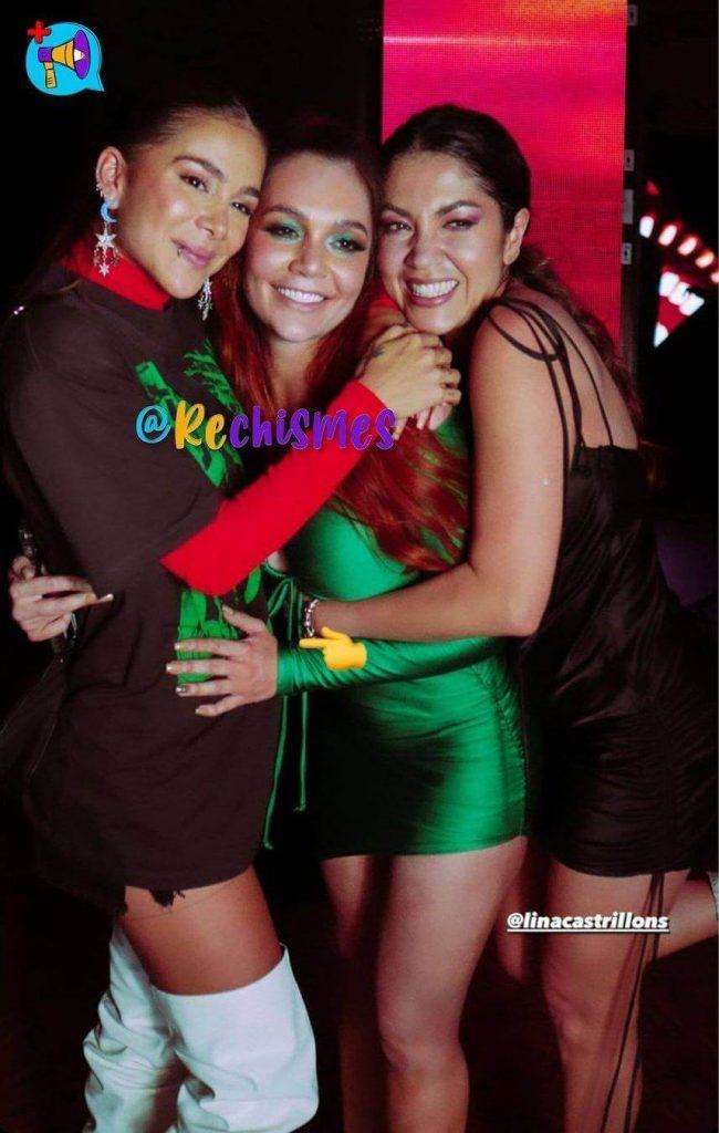 Foto de Greeicy Rendón, Lina Tejeiro y Lina Castrillón