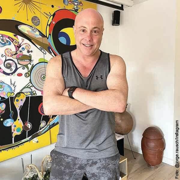 Jorge Rausch mostró los resultados tras meses de duro entrenamiento