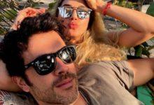 Juan Manuel Mendoza le dedicó amoroso mensaje a Melina Ramírez en show musical