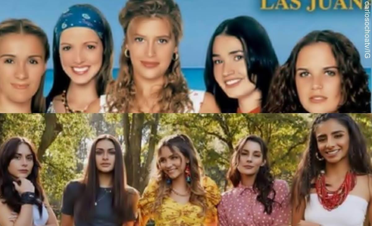 'La venganza de las Juanas' Netflix vs. telenovela 'Las Juanas' 1997