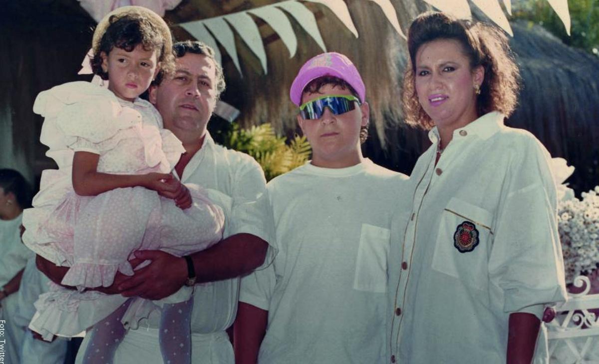 Así es la vida de los hijos de Pablo Escobar