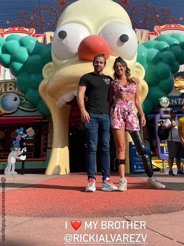 Las vacaciones familiares de Daniella y Ricky Álvarez en Disney