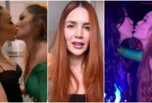 Lina Tejeiro respondió a criticas por sus besos con Aída y Epa Colombia