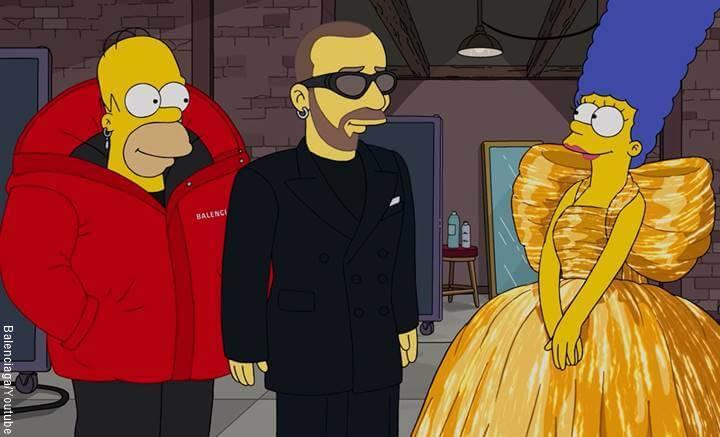 Print de Youtube de Homero y Marge