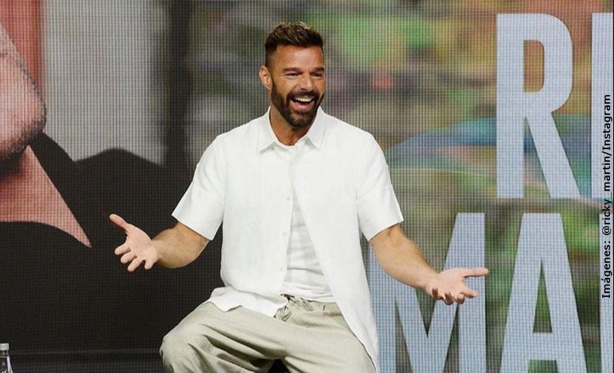 Ricky Martin aclaró rumores sobre el drástico cambio en su rostro