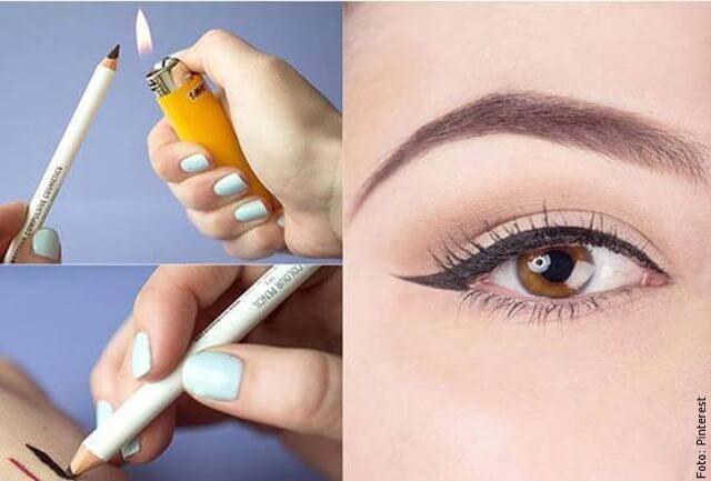foto de maquillahe de ojos