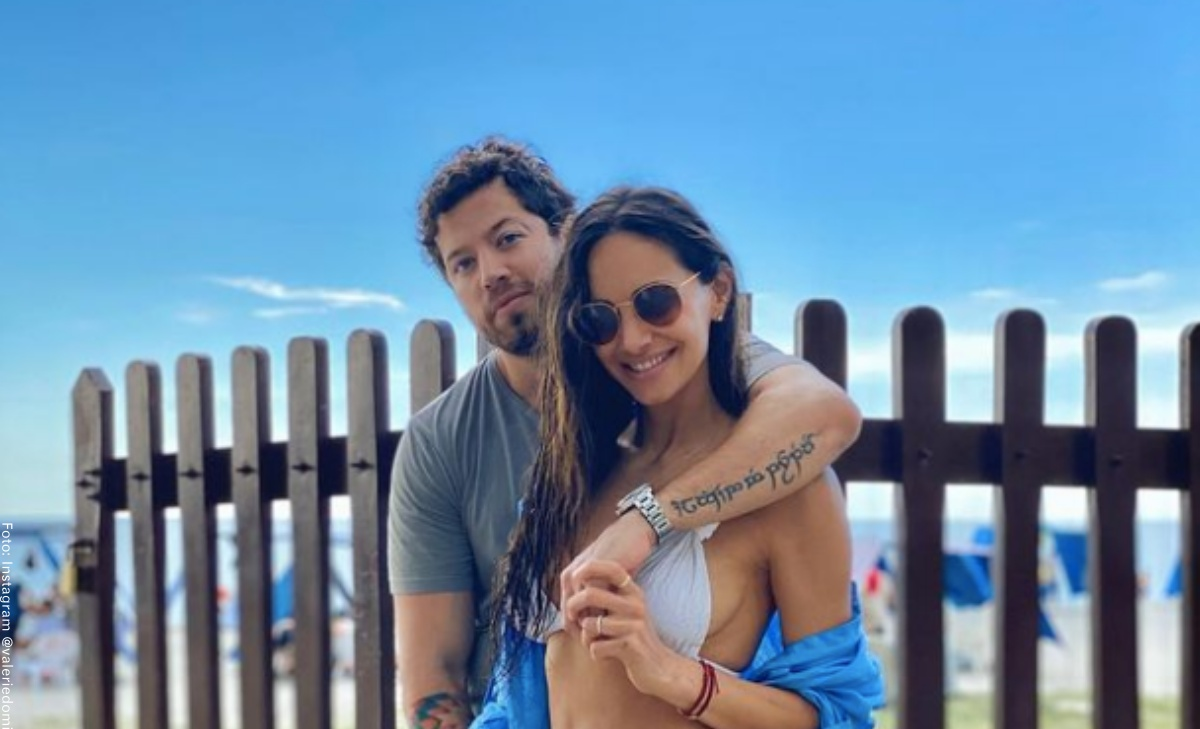 Valerie Domínguez reveló intimidades sobre ella y su esposo en el baño
