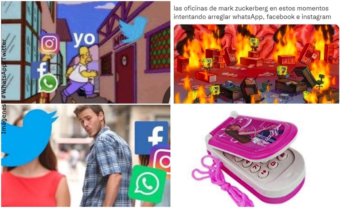 WhatsApp, Facebook e Instagram se cayeron pero los memes no se han hecho esperar